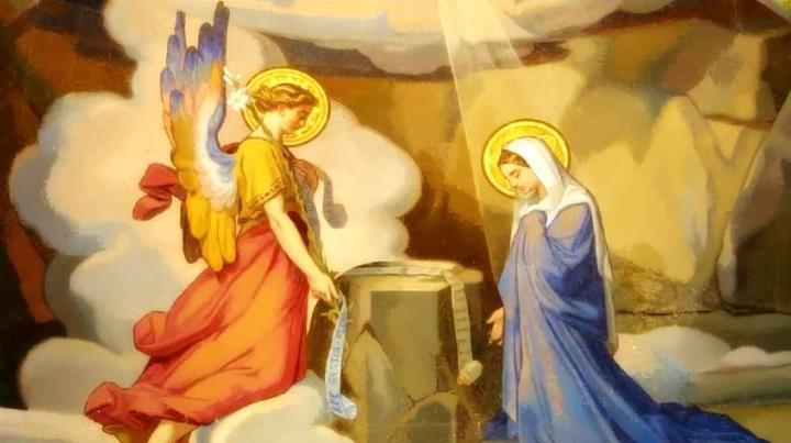 Anuncio Del Angel Gabriel A Maria
